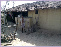 Image of a Manpur village home